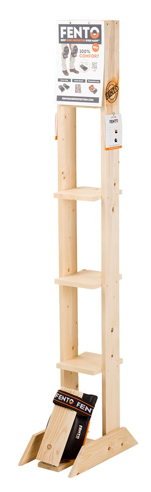 FENTO 200/200 PRO combi wooden display