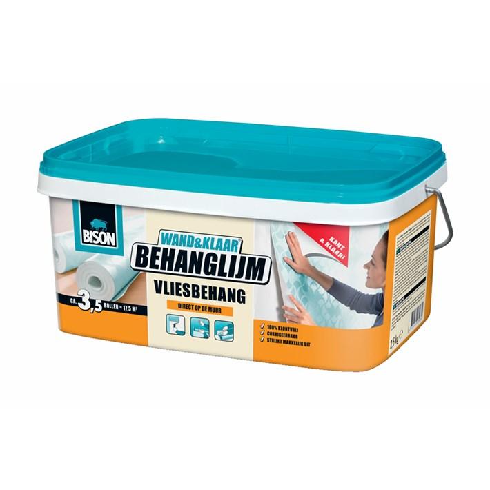 6302992 BS Wand&Klaar® Behanglijm Vliesbehang Bucket 2,5 kg NL
