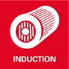 Stille inductiemotor: onderhoudsvrij en robuust