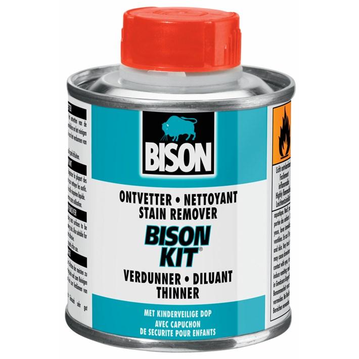 1310025 BS Ontvetter/Verdunner voor Bison Kit® Tin 250 ml NL/FR/EN/DE