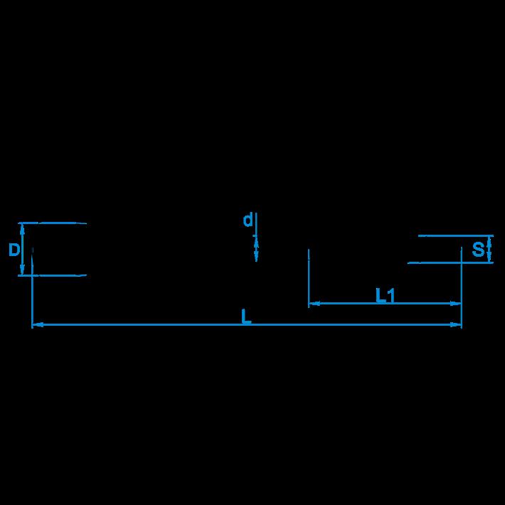 Veiligheidsschommelhaken houtdraad tekening | Safety swing hooks wood thread drawing | Sicherheitsschaukelhaken mit Holzgewinde Zeichnung | Crochets de balançoire de sûreté à bois plan