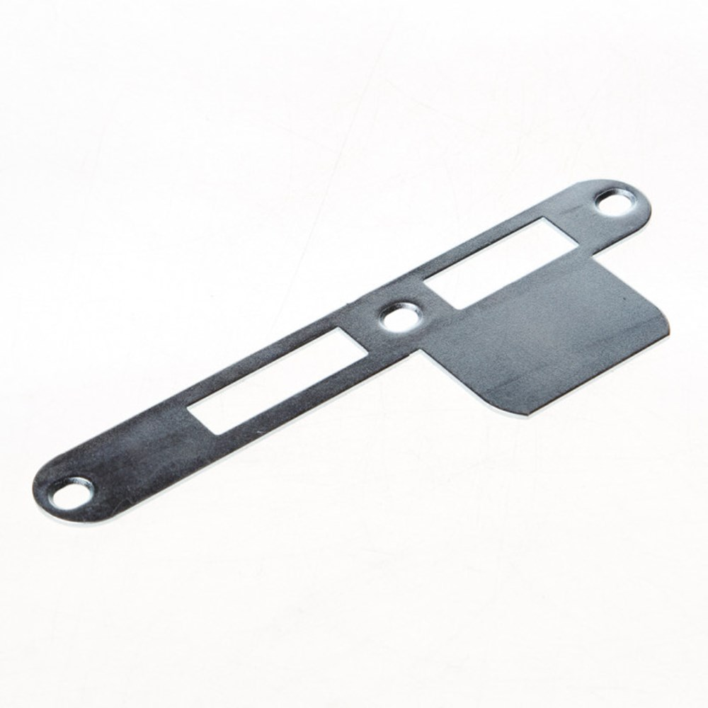 Sluitplaat verlengde lip, staal verzinkt