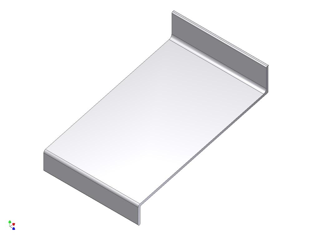 Waterslagprofiel, aluminium