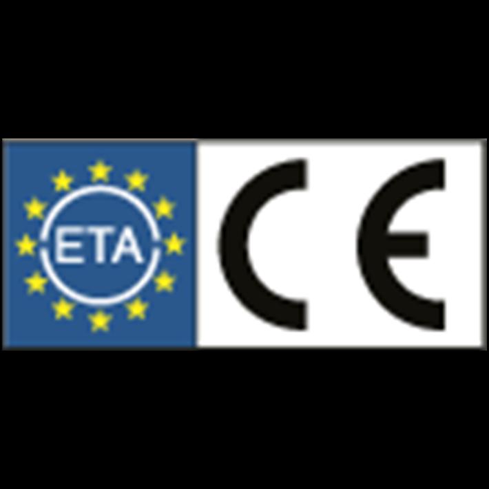 ETA en CE keurmerk | ETA and CE approved | ETA und CE Prüfung | Approbation ETA et CE