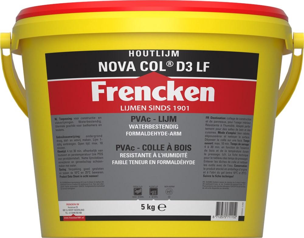 FRENCKEN HOUTLIJM WATERBEST. NOVACOL D3 5000GR