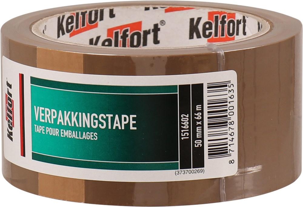 KELFORT VERPAKKINGSTAPE BRUIN  50X66000