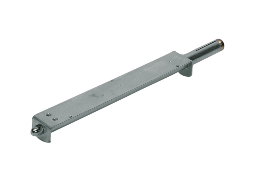 Plankdrager met keilbout, elektrolytisch verzinkt