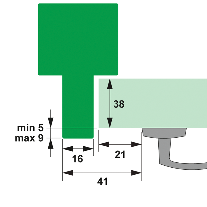 Minimale montagematen