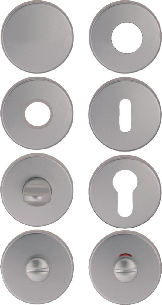 Vrij- en bezetrozet, aluminium
