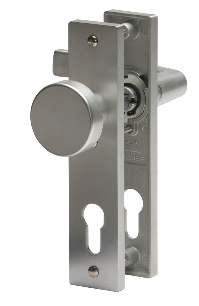Kruk/knop schild, aluminium