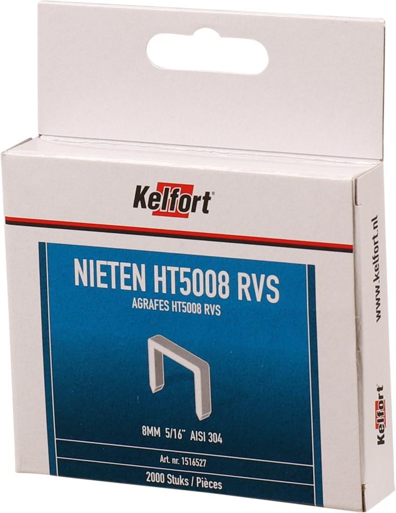 KELFORT NIETEN P2000 T50 RVS 8 MM