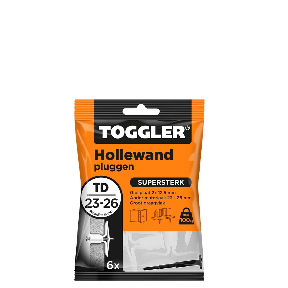 Toggler Hollewandplug TD zak met 6 pluggen.tif