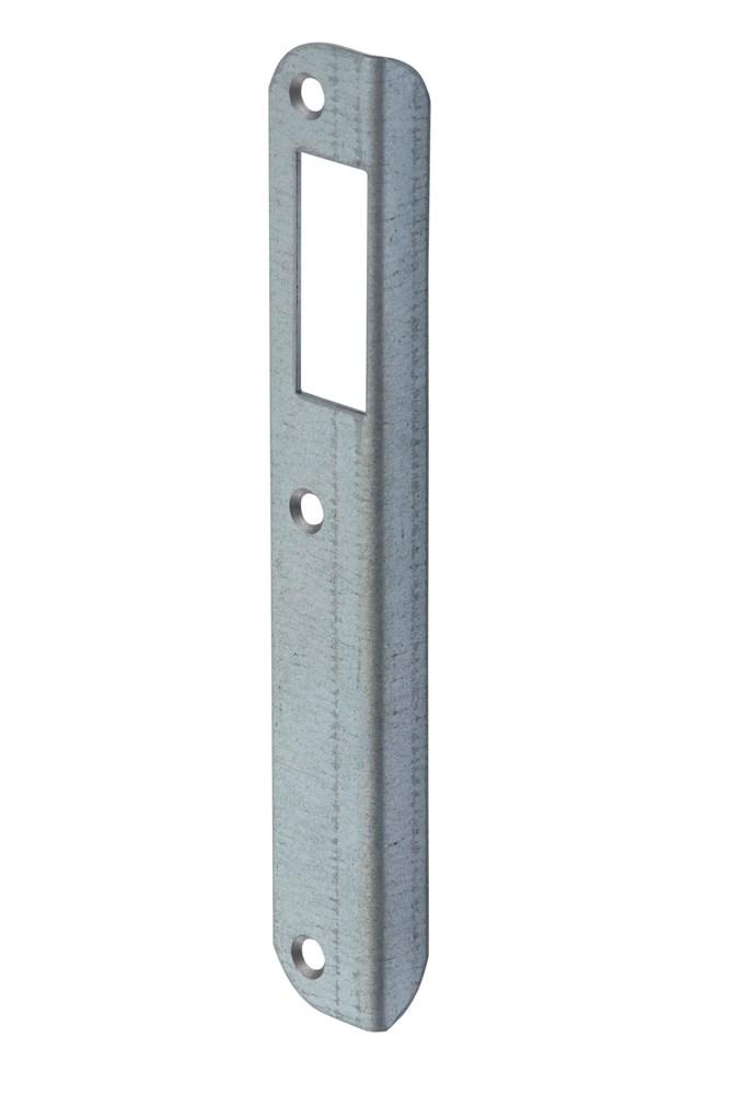 Hoeksluitplaat, staal verzinkt
