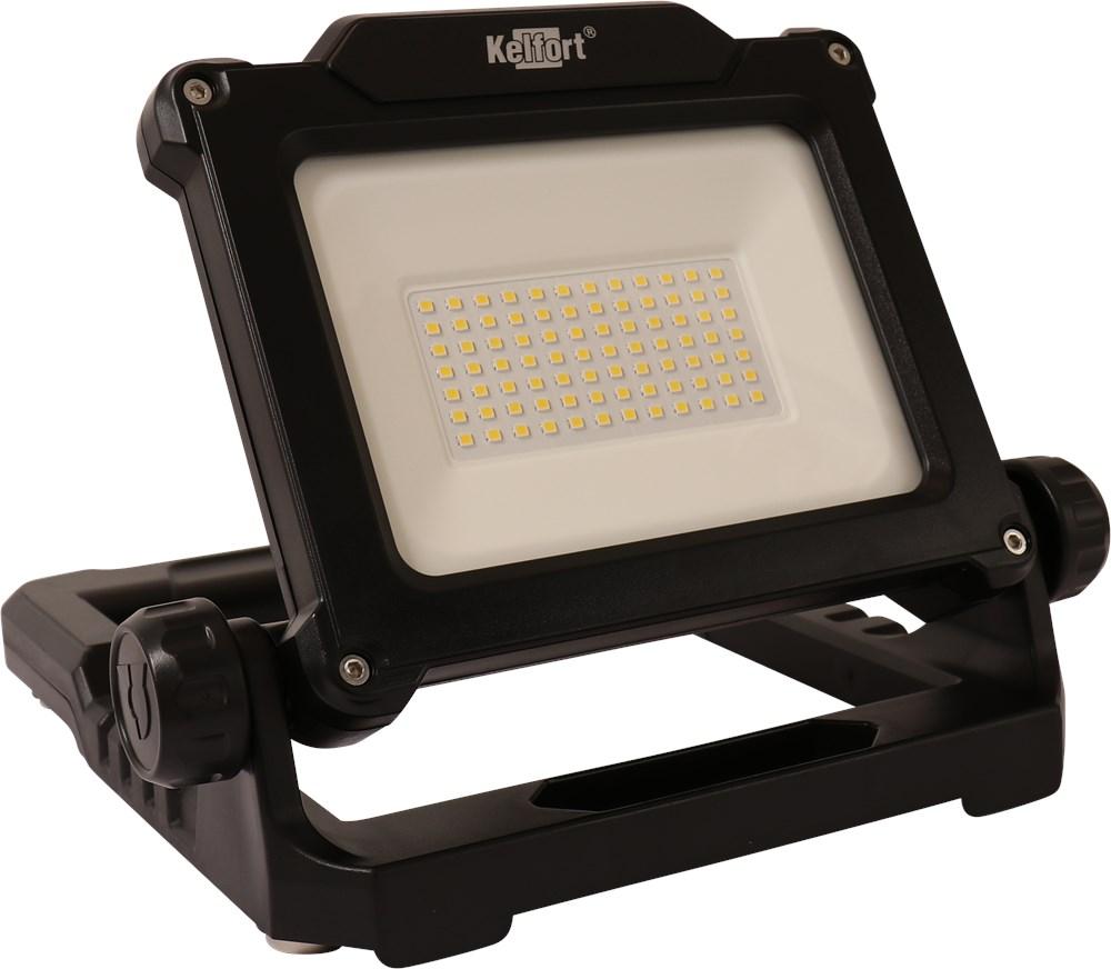 KELFORT LED BOUWLAMP ACCU KLASSE III 24W