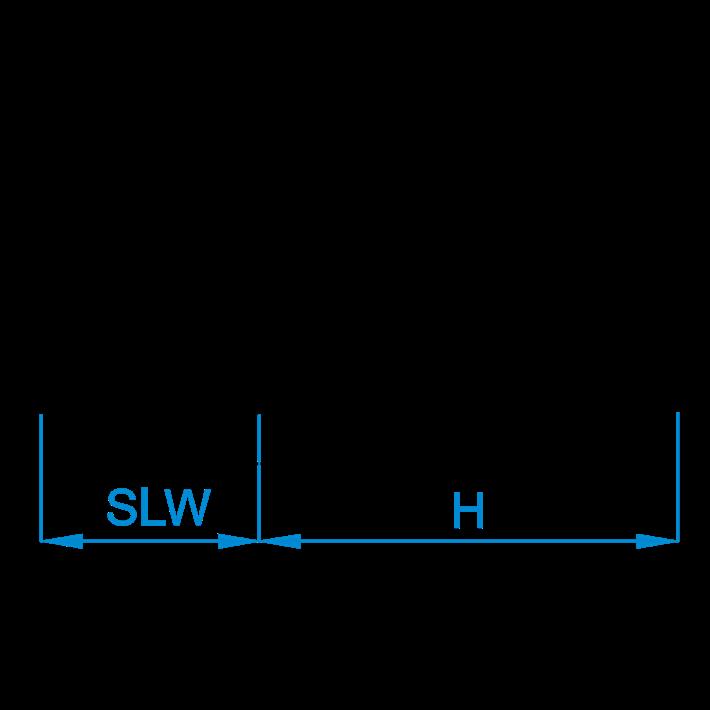 Zeskante koppelmoeren DIN6334 tekening | Hexagon coupler nuts DIN6334 drawing | Sechskant Verbindungsmuttern DIN6334 Zeichnung | Écrous hexagonaux DIN6334 plan