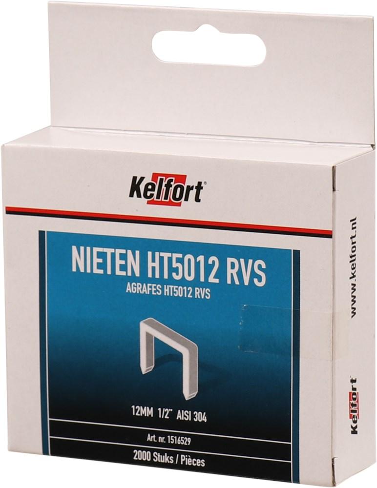 KELFORT NIETEN P2000 T50 RVS 12MM