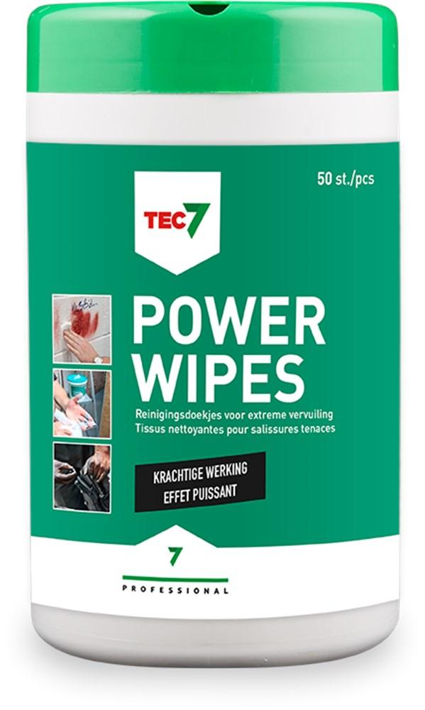 TEC7 REINIGINGSDOEKJES POWERWIPES