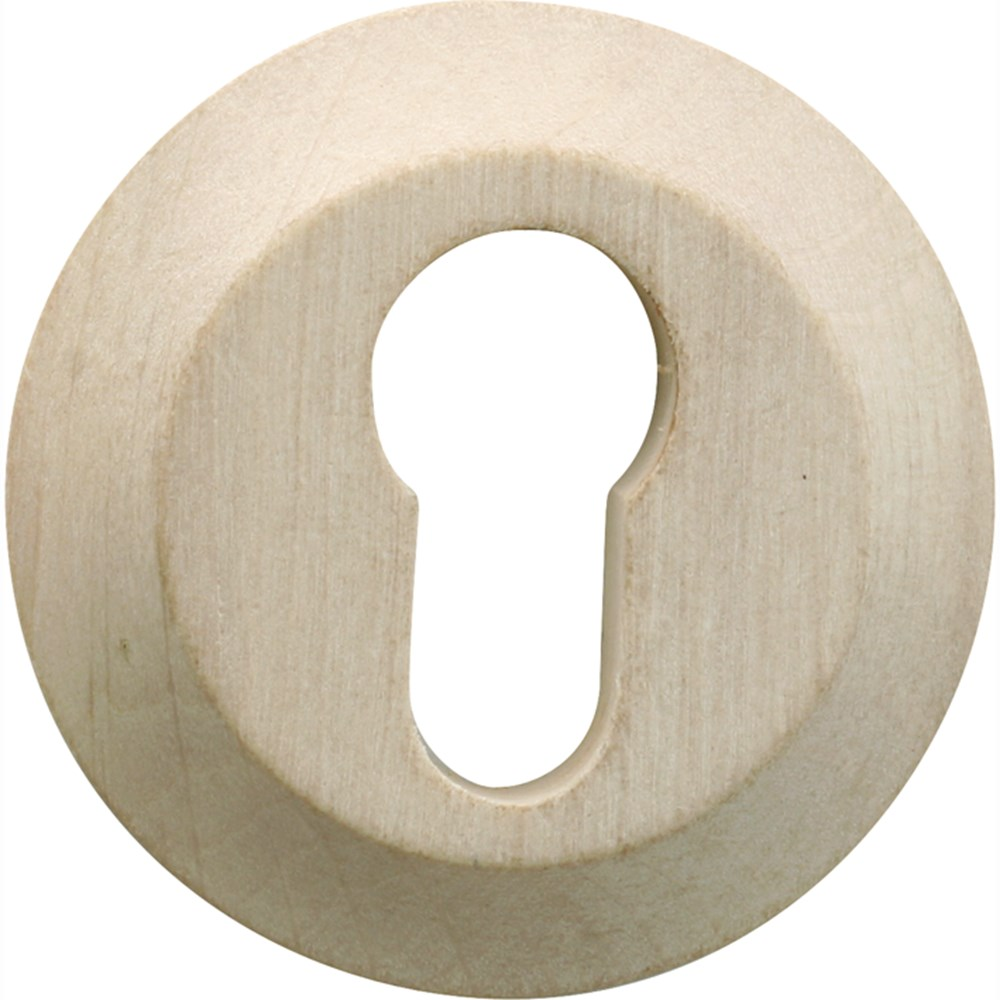Cilinderrozet, hout
