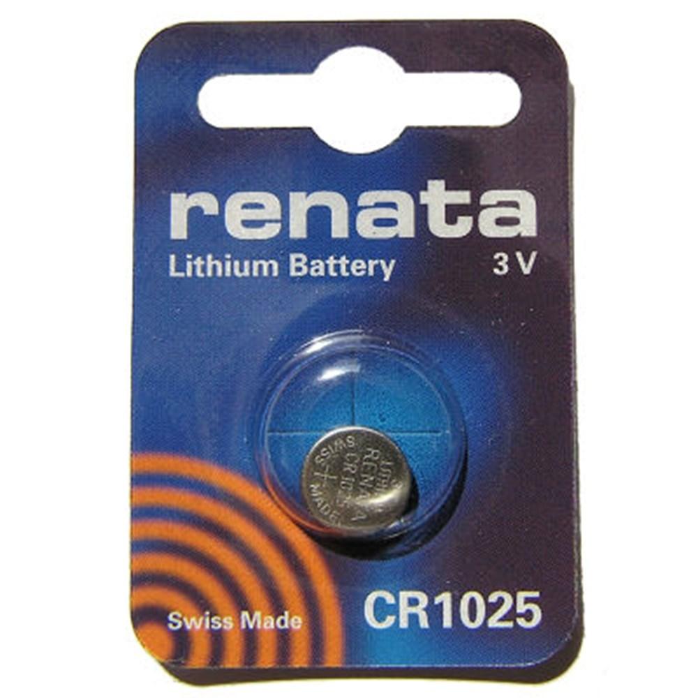 RENATA KNOOPCEL CR1025 3.0V