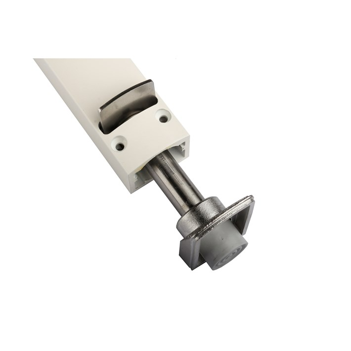 Detail voetdeel onder ZE deurvastzetter Design Line