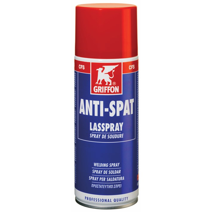 1235007 GR Anti-Spat Lasspray 400 ml NL/FR/EN/ES/IT/GR