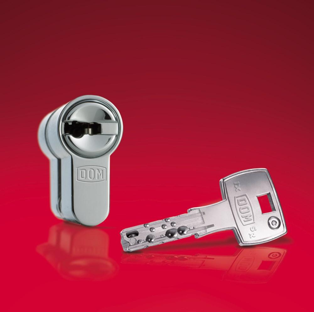 knopcil dom ix6sr skg 333k6 35 40mm cilinder 5mm knop. Black Bedroom Furniture Sets. Home Design Ideas