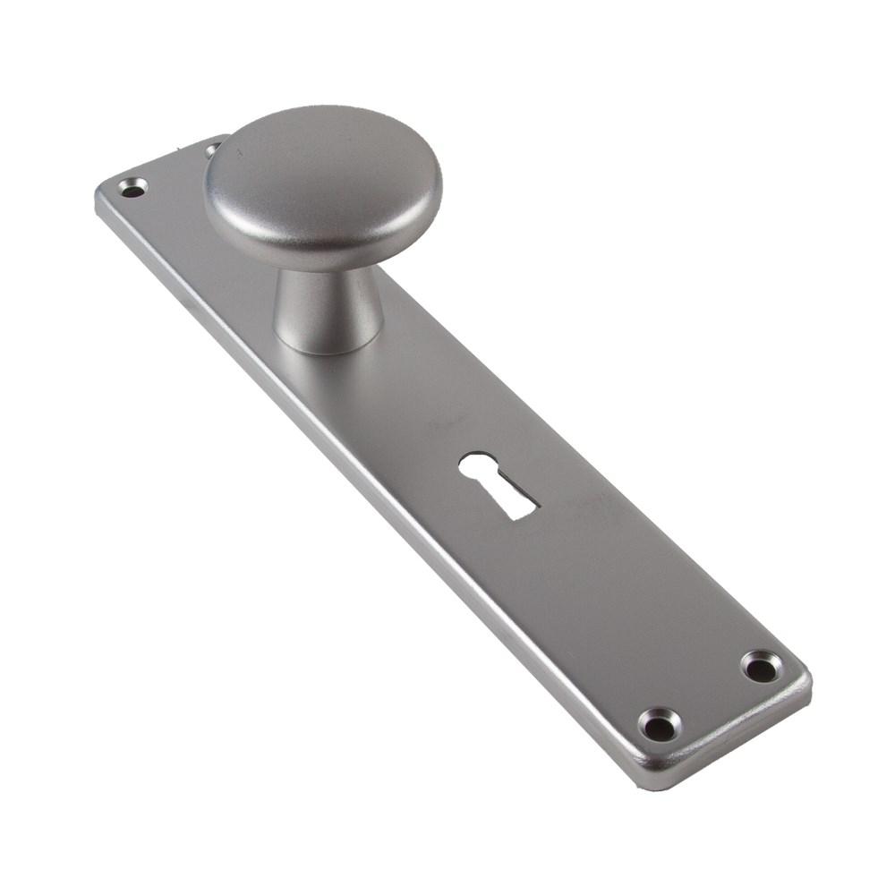 Knoplangschild, aluminium