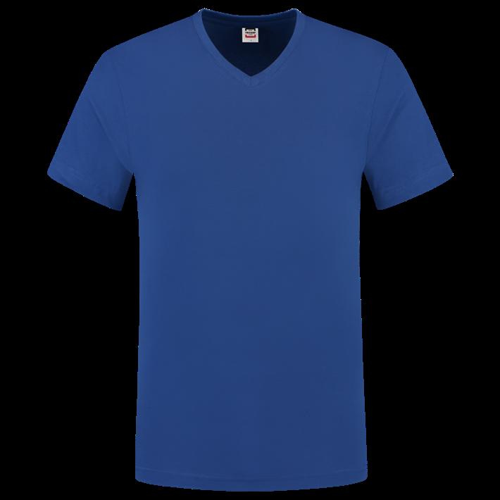Tricorp T-shirt Vhals SlimFit Royalblue
