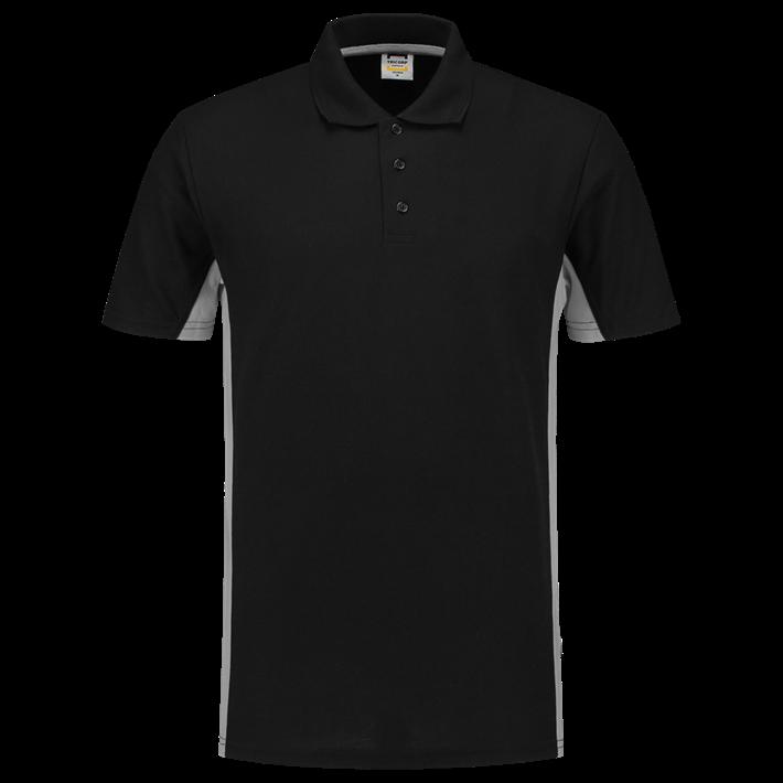 Tricorp Poloshirt Bicolor Black Grey