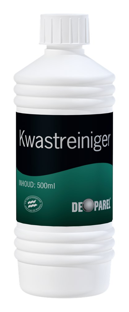 Kwastreiniger 0 5 l HDPE De Parel.tif