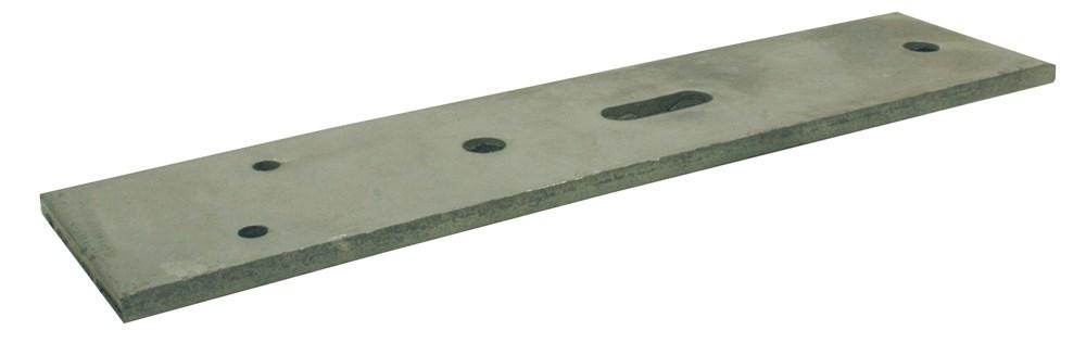 Vloer-kozijnstrip, thermisch verzinkt