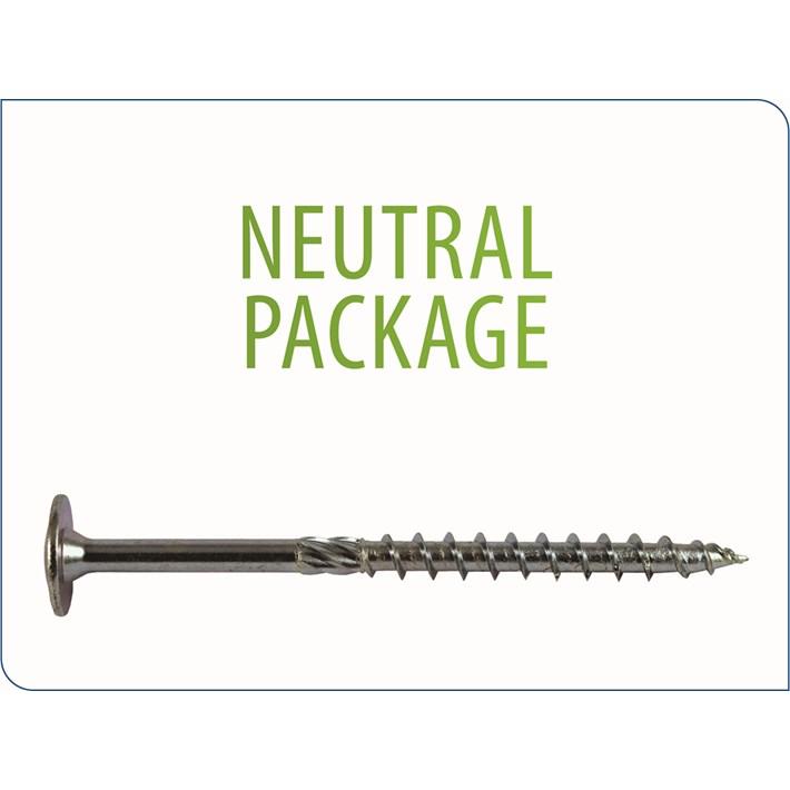 Houtbouwschroeven Tellerkop | Construction screws wafer head | Holzbauschrauben Tellerkopf | Vis charpente tête disque