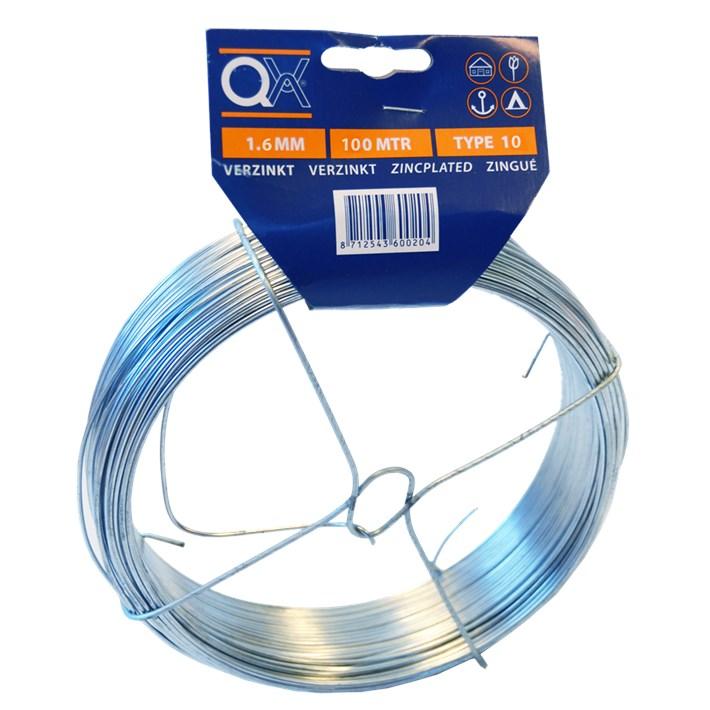 Binddraad ijzer verzinkt | Tie wire iron zincplated | Bindedraht Eisen verzinkt | Fil de fer acier zingué