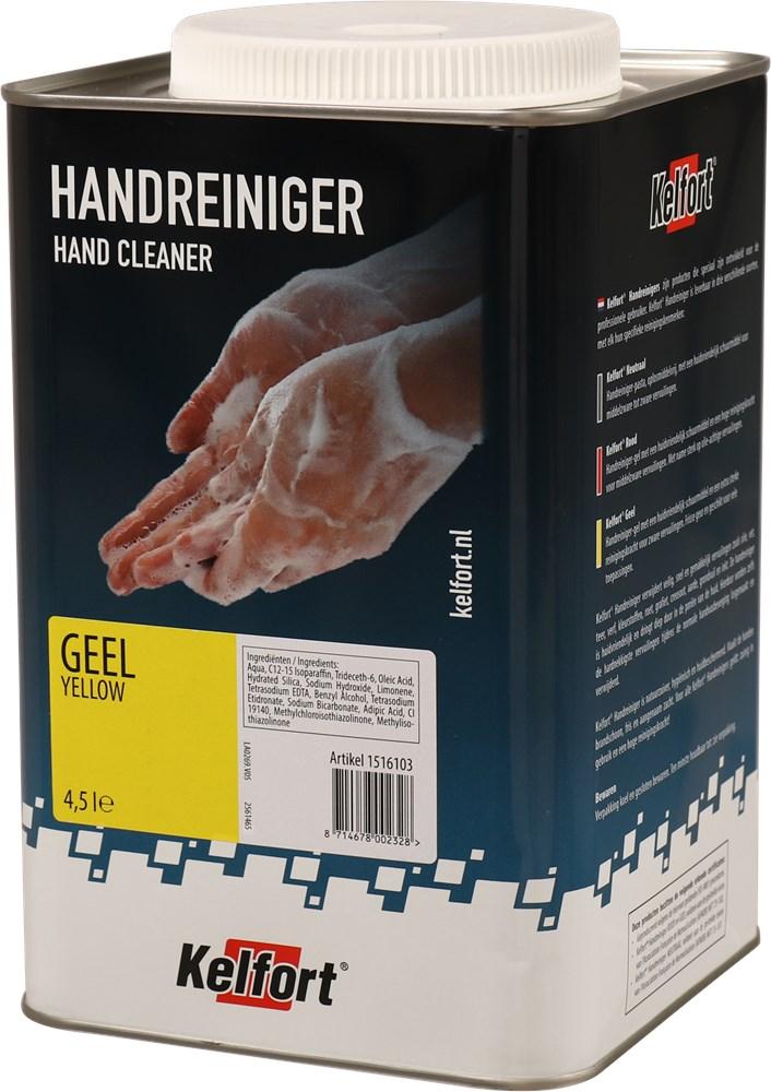 KELFORT HANDREINIGER GEEL 4500ML