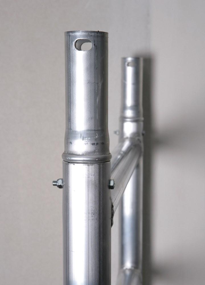 Vouwsteiger, aluminium