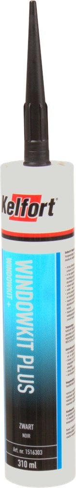KELFORT WINDOWKIT OS ZWART 310ML