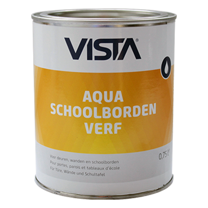 Vista Aqua Schoolbordenverf 0.75 ltr.