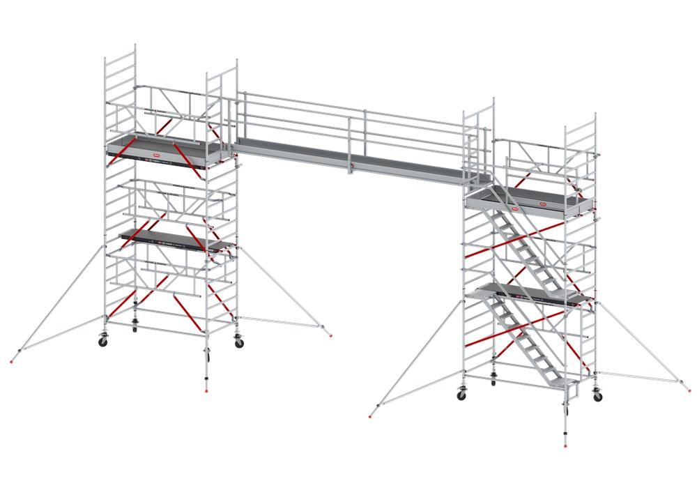 Loopbrug, aluminium