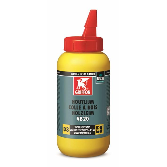 6305082 Griffon Wood Adhesive VB20® Bottle 750 g NL/FR/DE