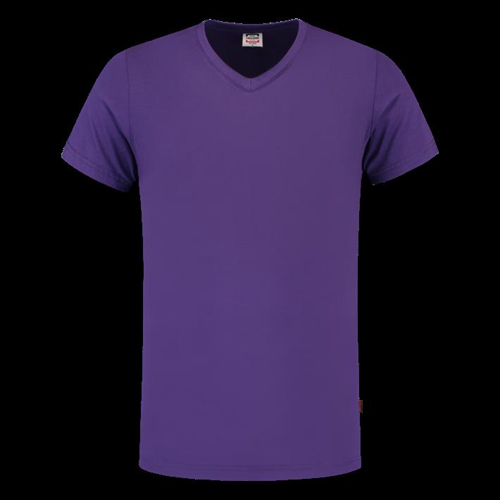 Tricorp T-shirt Vhals SlimFit Purple