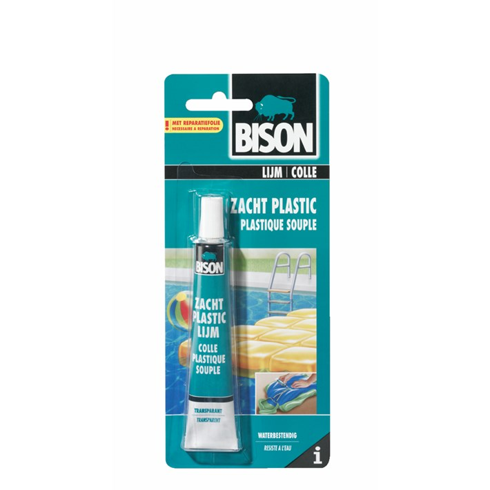 1307500 BS Zacht Plastic Lijm 25 ml NL/FR