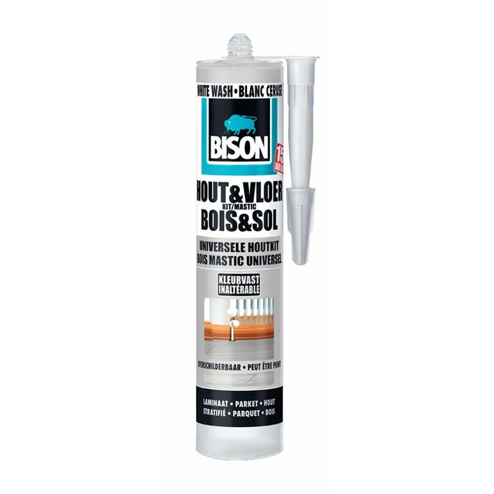 6308540 BS Hout&Vloer White Wash 300 ml cartridge NL/FR