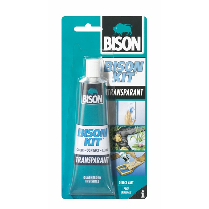 6305943 BS Bison Kit® Transparant Tube 100 ml NL/FR