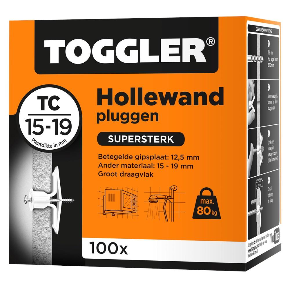 Toggler Hollewandplug TC doos met 100 pluggen.tif