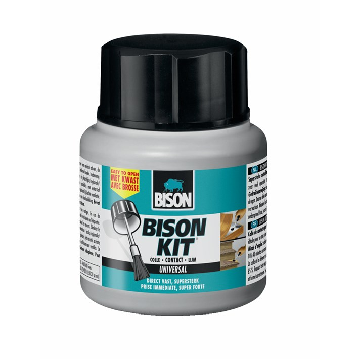 6300543 BS Bison Kit® pot with brush 125 ml NL/FR
