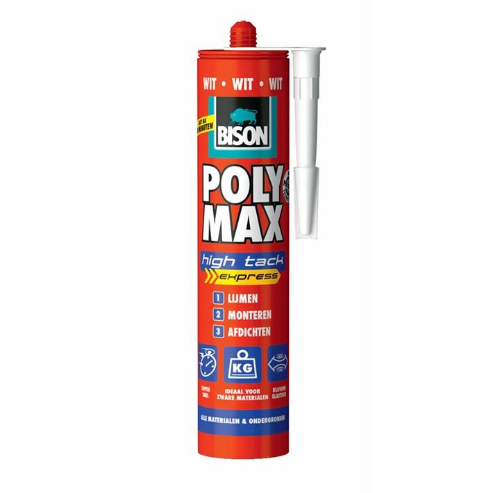 6309790 BS Poly Max® High Tack Express White Cartridge 425 g NL