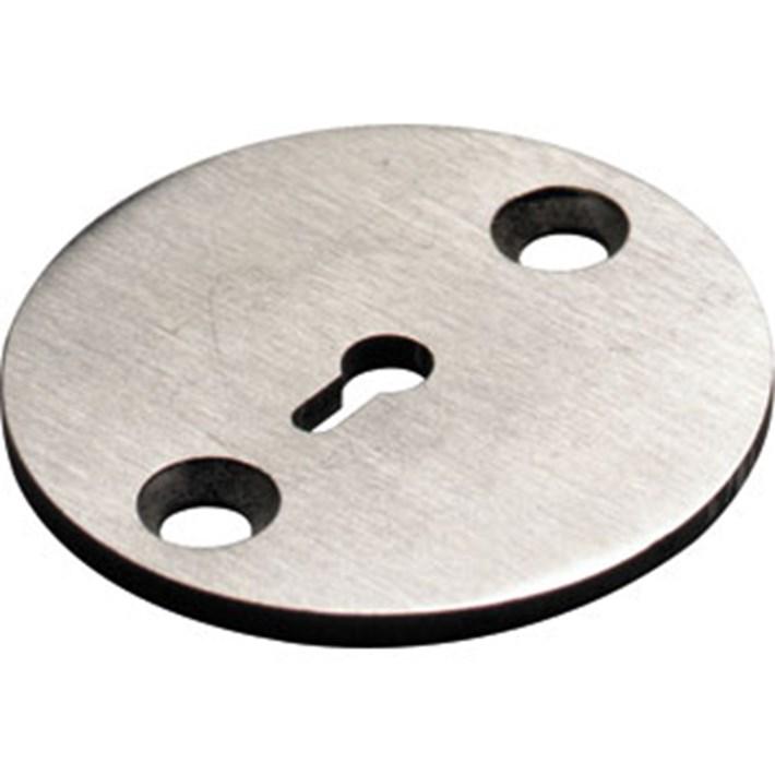 Achterplaat tbv T-vorm knop RVS 0035.926330