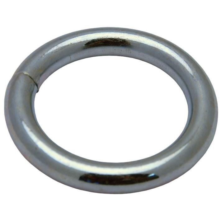 Ringen dichtgelast ijzer gegalvaniseerd | Welded rings iron galvanized | Geschweißte Ringe Eisen glanzverzinkt | Anneaux soudés acier zingué