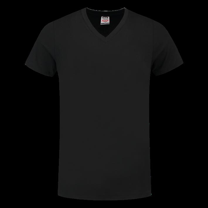 Tricorp T-shirt Vhals SlimFit Black