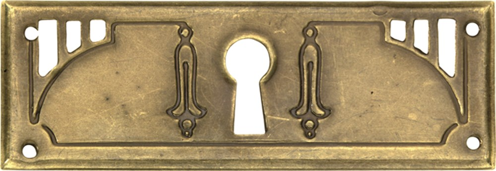 Sleutelrozet, brons